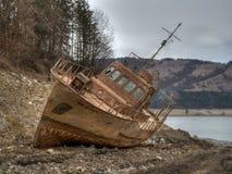 Ontbroken schip HDR Royalty-vrije Stock Afbeelding