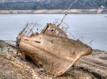 Ontbroken schip HDR Stock Foto
