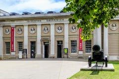 Ontdek de Bezoeker Centrer, Londen van Greenwich stock foto