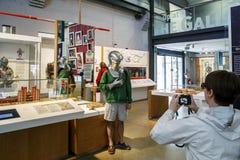 Ontdek de Bezoeker Centrer, Londen van Greenwich stock fotografie
