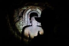 Ontdek holen in India stock foto