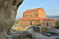 Ontdek Uplistsikhe-Holstad in Georgië stock foto