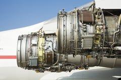 Ontdoende van vliegtuigmotor Stock Afbeelding