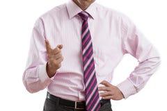 Ontevreden manager royalty-vrije stock foto