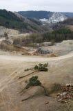Ontgonnen landschap Royalty-vrije Stock Foto's