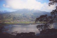 Onthaal aan Buyan, Bali, Indonesië Royalty-vrije Stock Afbeeldingen