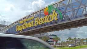 Onthaal aan Daytona Beach FL stock video
