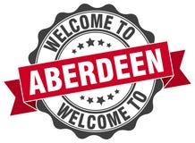 Onthaal aan de verbinding van Aberdeen Royalty-vrije Stock Afbeelding