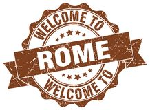 onthaal aan de verbinding van Rome vector illustratie