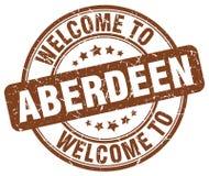 Onthaal aan de zegel van Aberdeen Stock Afbeelding