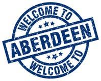 Onthaal aan de zegel van Aberdeen royalty-vrije illustratie