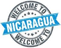 Onthaal aan de zegel van Nicaragua Royalty-vrije Stock Foto