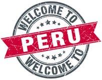 onthaal aan de zegel van Peru Stock Foto's