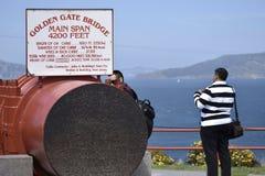 Onthaal aan Golden gate bridge, wat de kabel werkelijk als kijkt Royalty-vrije Stock Fotografie