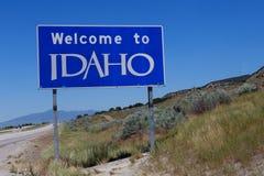 Onthaal aan het teken van Idaho Royalty-vrije Stock Foto