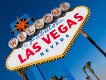 Onthaal aan Las Vegas 2 Stock Foto's