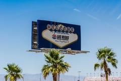 Onthaal aan Las Vegas Stock Afbeeldingen
