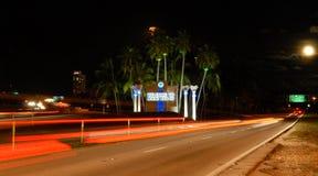 Onthaal aan Miami Royalty-vrije Stock Foto's