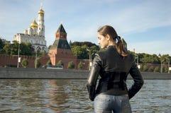 Onthaal aan Moskou Stock Foto's