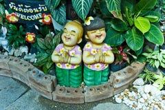 Onthaal aan Thailand Stock Fotografie