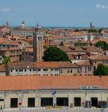 Onthaal aan Venetië stock afbeeldingen