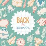 Onthaal terug naar school Stock Fotografie