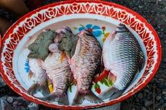 Ontlede vissen royalty-vrije stock afbeelding