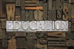Ontmoet onderwijs Stock Foto