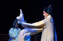 """Ontmoette eerst de tijd-Purpere Haarspeld--jiangxi opera""""four dromen van linchuan† Royalty-vrije Stock Afbeeldingen"""
