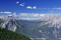 Ontop of Sulphur Mountain,Banff Alberta,Canada Stock Image