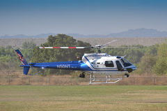 Ontário Police - Eurocopter AS 350 B2 Stock Image