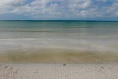Ontruim, turkoois water bij St Pete Beach, Florida, de V.S. Royalty-vrije Stock Afbeeldingen