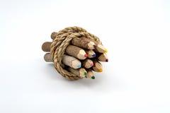 Ontschorst de potlood gemaakte vorm Royalty-vrije Stock Afbeelding