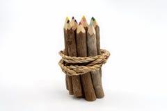Ontschorst de potlood gemaakte vorm Royalty-vrije Stock Foto