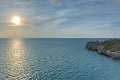 Ontspan bij de kust Stock Fotografie
