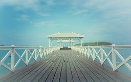 Ontspan bij de kust Stock Foto's