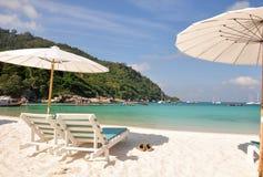 Ontspan dag in Raya Island, Phuket Royalty-vrije Stock Foto's