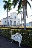 Ontspan in een uitstekend dorp in Cuba stock afbeelding