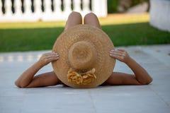 Ontspan en Familievakantie op Costa del Sol royalty-vrije stock foto