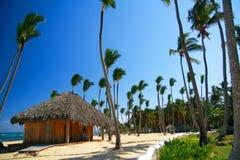 Ontspan huis voor massage in Hawaï stock afbeelding