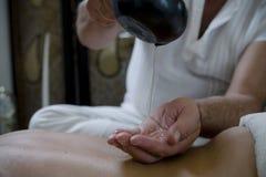 Ontspan massage Royalty-vrije Stock Afbeeldingen