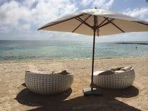 Ontspan op het strand Royalty-vrije Stock Afbeelding