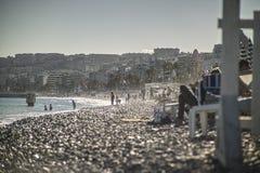 Ontspan op het strand Royalty-vrije Stock Foto