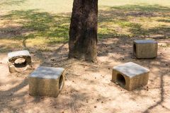 Ontspan stoelen Stock Afbeelding