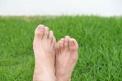 Ontspan voeten Stock Fotografie