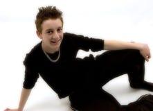 Ontspannen tiener Royalty-vrije Stock Foto's