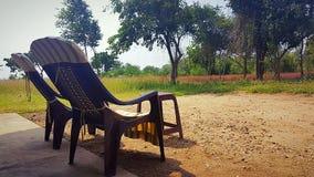 Ontspannende plaats in Sri Lanka royalty-vrije stock afbeelding