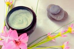 Ontspannende wellnessbehandelingen van de schoonheid en van het kuuroord Royalty-vrije Stock Foto