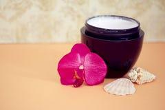 Ontspannende wellnessbehandelingen van de schoonheid en van het kuuroord Royalty-vrije Stock Fotografie