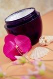 Ontspannende wellnessbehandelingen van de schoonheid en van het kuuroord Royalty-vrije Stock Afbeelding